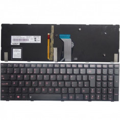 Tastatura laptop Lenovo Y590 iluminata - Tastatura PC