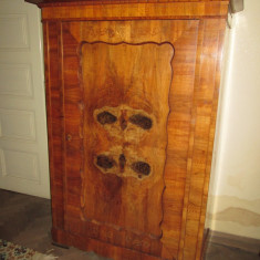 Dulap Bidermeier din lemn, cu o usa - Sifonier, Lemn masiv, Numar de usi: 1
