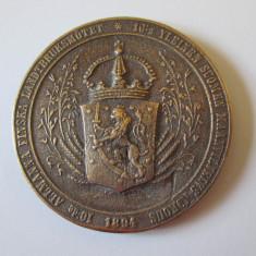 Rara! Marele Ducat al Finlandei Medalia onoare a Ministerului Agriculturii 1894