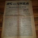 ziarul actiunea 8 februarie 1913-diferentul romano-bulgar,art. despre automobil