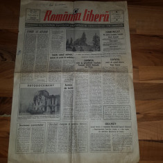 Ziarul romania libera 27 decembrie 1989-revolutia, foto cu ceausescu impuscat