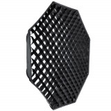 Softbox octogonal octobox 120cm cu grid - montura Elinchrom