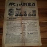 ziarul actiunea 2 februarie 1914-alegrile,candidatii partidului conservator