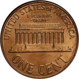 SUA/USA 1 cent (Lincoln) 1964 D (Denver) _ UNC , luciu batere, America de Nord, Alama