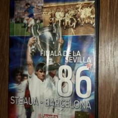 Finala De La Sevilla STEAUA BARCELONA, GAZETA SPORTURILOR - DVD fotbal