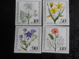 Serie timbre flora flori plante Berlin nestampilate timbre filatelice postale, Nestampilat
