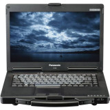 Laptop Panasonic Toughbook CF-53, Intel Core i5 Gen 2 2520M 2.5 GHz, 4 GB DDR3, DVD-ROM, Wi-Fi, Bluetooth, Card Reader, Display 14inch 1366 x 768