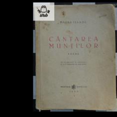 Magda Isanos Cantarea muntilor  Ministerul Artelor 1945