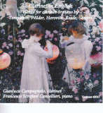 Campagnolo/Cancellieri - Clarinet In English/Works ( 1 CD )