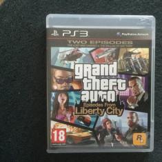 Vand GTA liberty city PS3 - Jocuri PS3 Rockstar Games, 18+, Single player