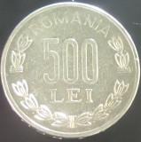 Moneda 500 Lei - ROMANIA, anul 1999  *cod 3854  --- A.UNC**, Aluminiu