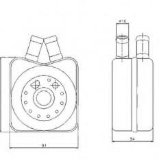 Radiator Ulei Motor 43084 - Radiator auto ulei