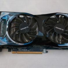 Placa video GIGABYTE Radeon HD6850 OC 1GB Windforce DDR5 256-bit - Placa video PC Gigabyte, PCI Express, Ati