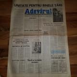 Ziarul adevarul 28 decembrie 1989-revolutia