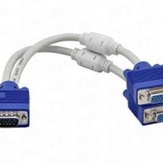 Adaptor Sandberg tip VGA Y M-F/F - Adaptor interfata PC