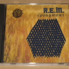 R.E.M. - Eponymous CD REM - Muzica Rock emi records
