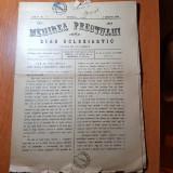 ziarul menirea preotului 1 septembrie 1894-ziar ecleristic aparut in rm. valcea