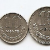 Mongolia Set  7 - 1, 2, 5, 10, 15, 20, 50 Mongo (1980/81)  aUNC, Asia