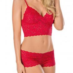 Lenjerie Intima Sexy Babydoll - Rosu S, M sau L - 004 - Lenjerie sexy femei, Marime: S, M, L, Babydolls