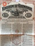 £100 Aur 1922 Obligatiune Romania la purtator