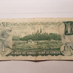 CANADA 1 DOLLAR 1973 - bancnota america