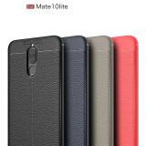 Husa / Bumper Antisoc model PIELE pentru Huawei Mate 10 lite