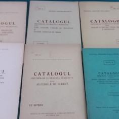 LOT 6 CATALOAGE PREȚURI CU RIDICATA REAȘEZATE/DIFERITE PRODUSE *1965