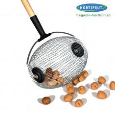 Dispozitiv de adunat/recoltat alune, nuci, castane, mere, prune - Pomi Nuc