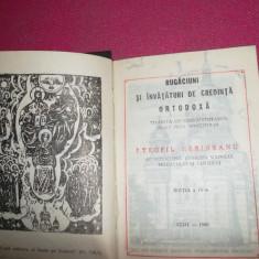 Rugaciuni si invataturi de credinta ortodoxa, cluj 1990 - Carte de rugaciuni