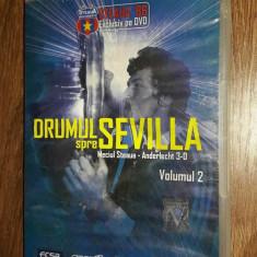Drumul Spre Sevilla -STEAUA - ANDERLECHT VOL 2 . - DVD fotbal