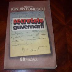 ION ANTONESCU - SECRETELE GUVERNARII * - Istorie