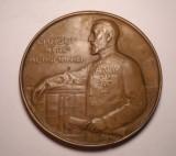 Medalie Regele Carol I - Fundatiunea Universitara Carol I 1891 1914 diam 70 mm