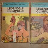Legendele Olimpului Eroii + zeii 2 vol./an 1983/507pag/ilustratii- Al.Mitru