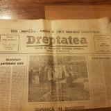 Ziarul dreptatea 3 aprilie 1990-mare miting la piata uniri din capitala