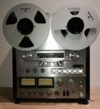 Magnetofon SONY TC-765, 4 piste,closed loop dual capstan, 3 c./3m., stare f.buna