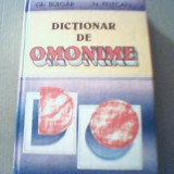 Gh. Bulgar, N. Felecan - DICTIONAR DE OMONIME { 1996 }