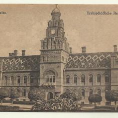 Cp CERNAUTI : RESEDINTA EPISCOPALA - 1918 - Carte Postala Bucovina 1904-1918, Necirculata, Fotografie