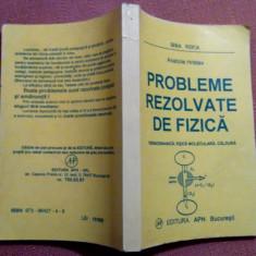Probleme Rezolvate De Fizica .Termodinamica, fizica moleculara, caldura -A.Hristev - Culegere Fizica