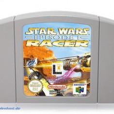 Joc Nintendo 64 Star Wars Episode 1 Racer Game pentru Nintendo 64