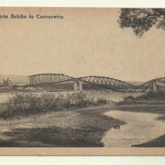 Cp CERNAUTI : PODUL - 1918 - Carte Postala Bucovina 1904-1918, Necirculata, Fotografie