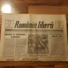 ziarul romania libera 23 ianuarie 1990 - miting al ligii studentilor