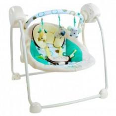 Balansoar Bebelusi CANGAROO Baby Swing Verde - Balansoar interior