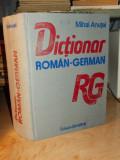 MIHAI ANUTEI - DICTIONAR ROMAN-GERMAN ( 60.000 CUVINTE-TITLU ) - 1990
