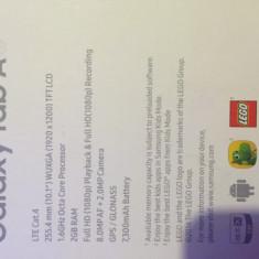 Tableta samsung, 16 GB, Wi-Fi + 4G