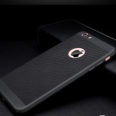 Husa LUXURY DESIGN de protectie iPhone X ULTRA SLIM MAT APPLE LOGO PRODUS NOU