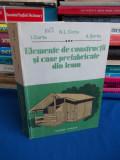 N.L. COTTA - ELEMENTE DE CONSTRUCTII SI CASE PREFABRICATE DIN LEMN - 1990