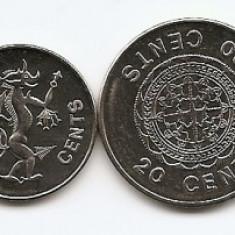 Insulele Solomon Set 7 - 1, 2, 5, 10, 20, 50 Cents, 1 $ (2005/10) UNC !!!, Australia si Oceania