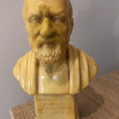 Bust vechi, Hippocrates, Hipocrates father of medicin - Sculptura