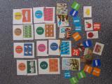Lot diferite cartonase de la jocuri vintage de colectie   / CJP