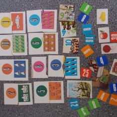 Lot diferite cartonase de la jocuri vintage de colectie / CJP - Joc colectie